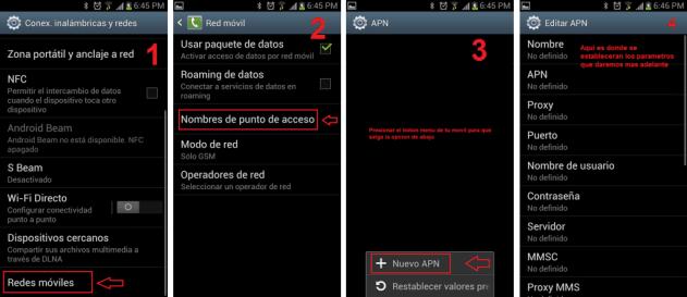 apn222 Guía para configurar APN de operadores colombianos: Tigo, Claro, Movistar, Une, Uff, Etb, Virgin mobile, Movil Exito