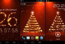 fondo animado navidad