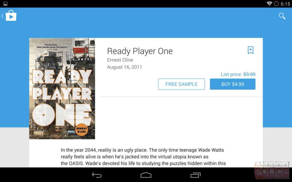google livres jouent la conception des équipements 1024x640 En images: belle interface filtrée qui sera Google Play matière de conception