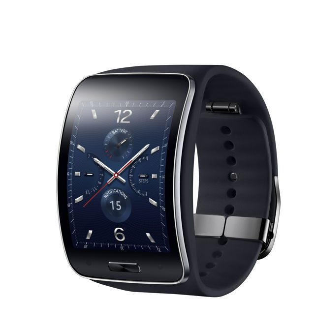 Samsung Blue Black 2 S Gear New Gear Samsung S, the curve display SmartWatch is official