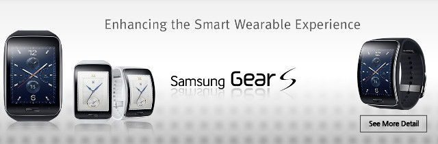 Samsung New Gear gear s S, the curve display SmartWatch is official