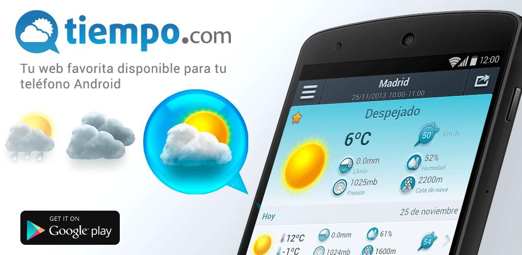 La aplicaci n el tiempo nos brinda informaci n del clima for Aplicacion del clima