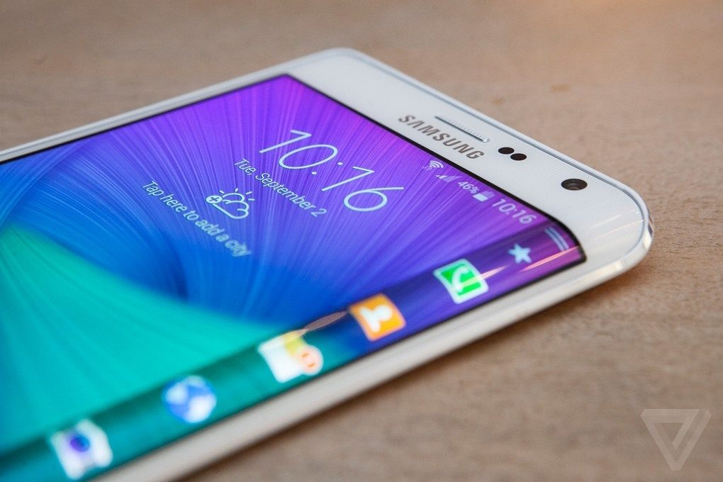 Galaxy Note Samsung Screen 1 Edge edge innovates again with its new Galaxy Note Edge, a second screen in one of the edges