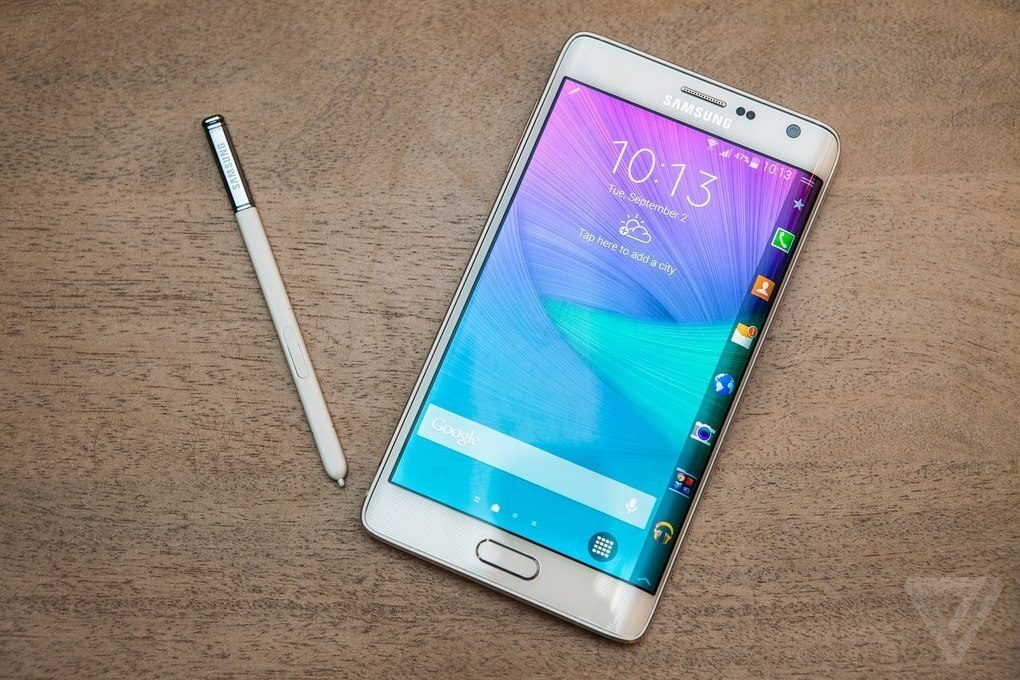 Galaxy Note Edge edge Samsung Screen 2 innovates again with its new Galaxy Note Edge, a second screen in one of the edges