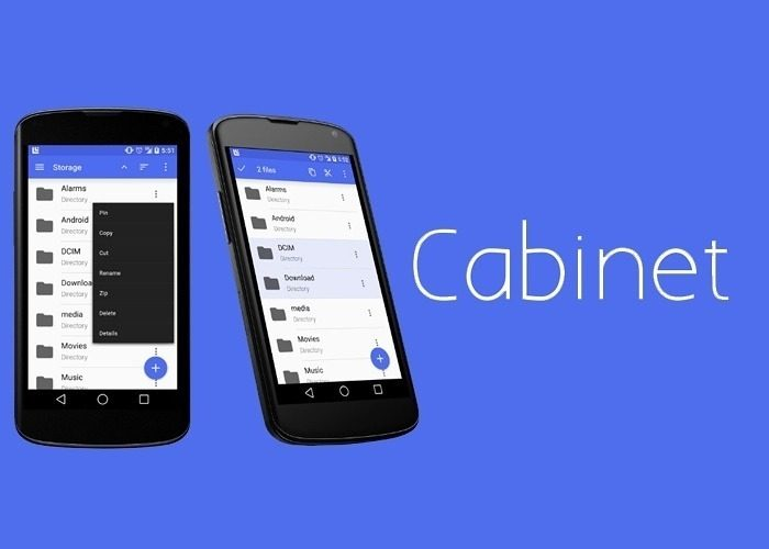 prominent cabinet beta [Application Recommended] Cabinet, a great file browser Stylish design materials