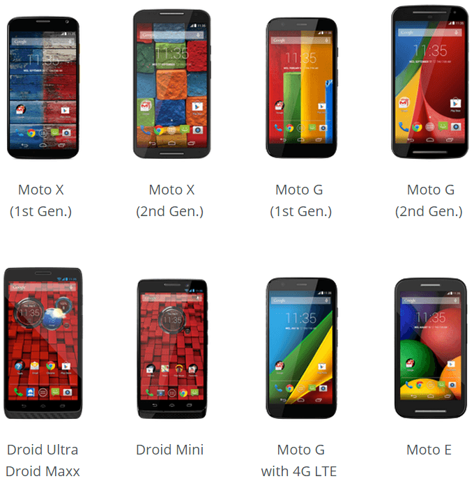 moto android lollipop Care Motorola users! These are devices that have Android 5.0 Lollipop