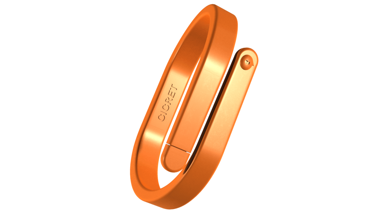 09 orange This bracelet makes our skin on a smartphone or tablet