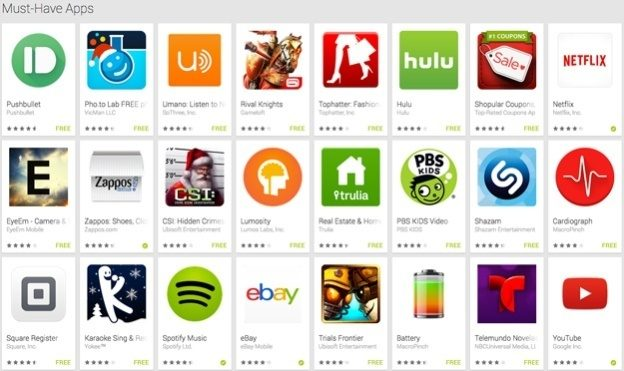 deve ter-android-apps