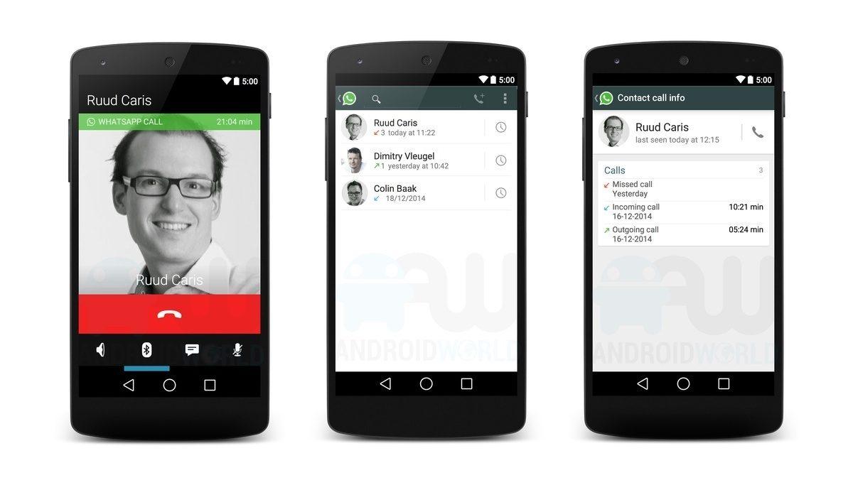 whatsapp calls Voice Calls WhatsApp reach in 2015; so they will look