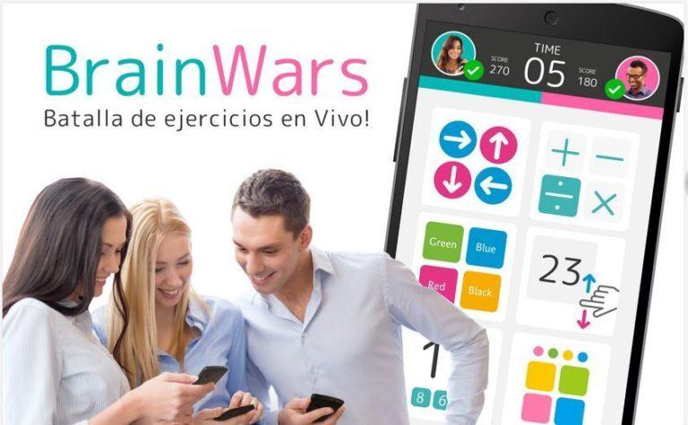 BrainWars… ejercita tu mente y reta a tus amigos ¿quién es más inteligente?