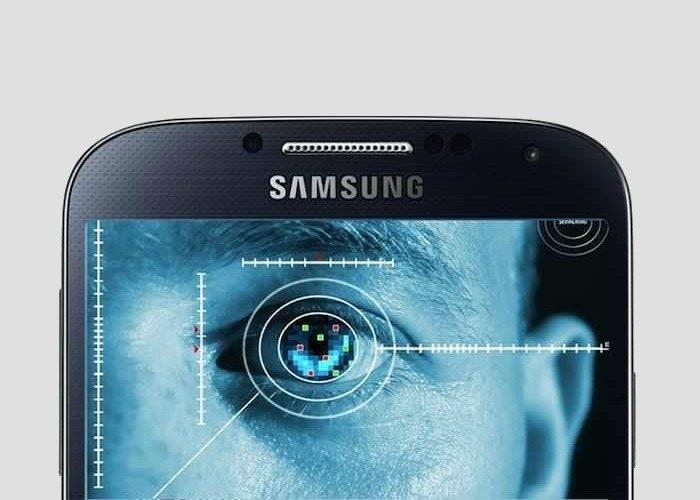 Escáner de iris en los proximos dispositivos Samsung