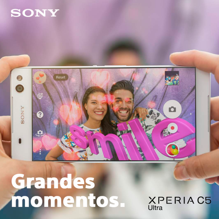 Selfiephone Xperia C5 Ultra: Disponible en Colombia
