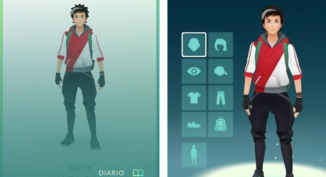 Actualizacion avatar pokemon go