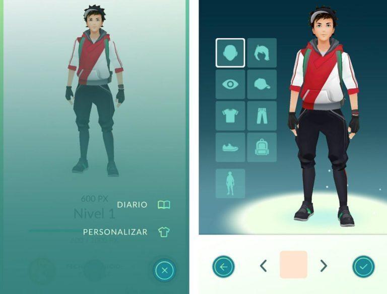 Actualización Pokémon GO 0.31.0: Ya puedes personalizar tu Avatar, adiós a las huellas y mas