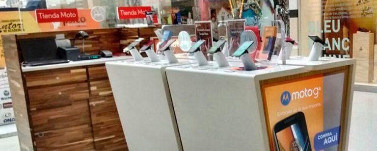 Motorola inaugura su primera tienda en Colombia