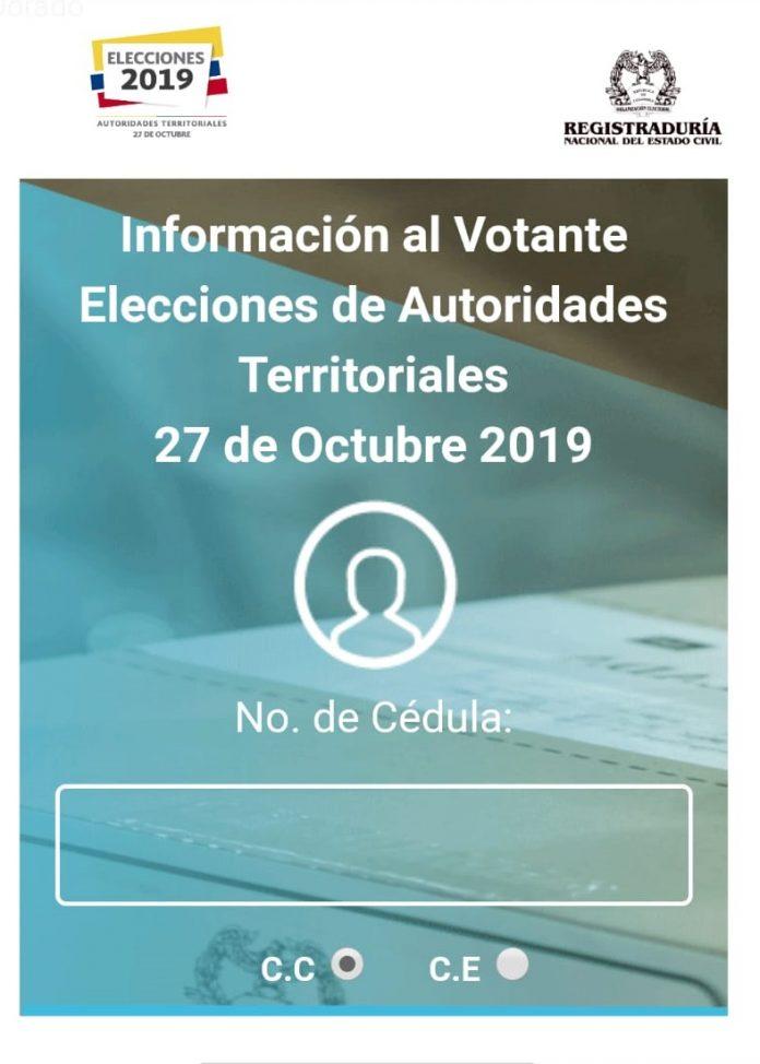 Consulta Infovotantes 2019