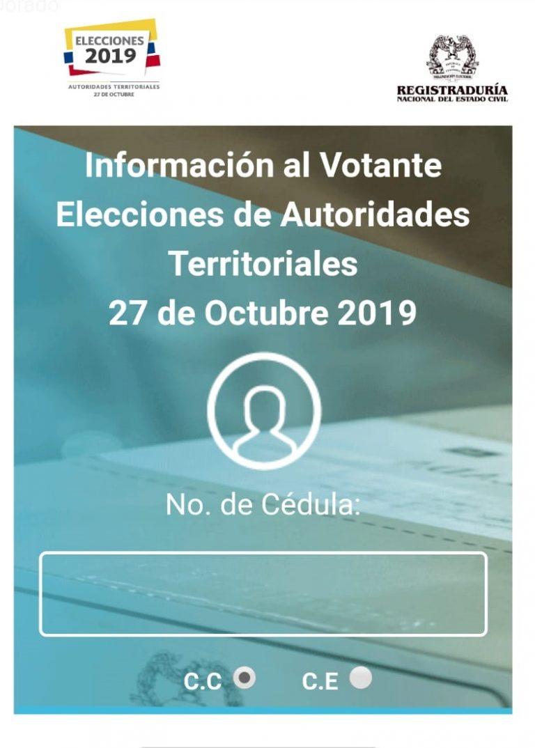Infovotantes 2020: Aplicación para Consultar Puesto y Jurado de Votación