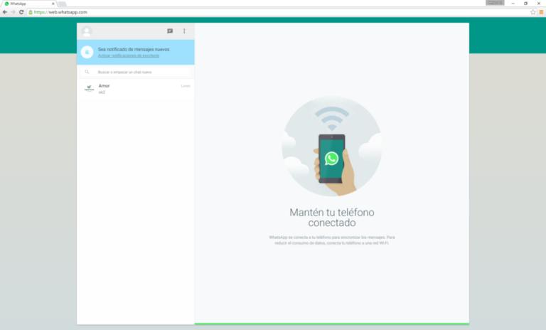 Cómo se usa WhatsApp web desde el móvil y PC
