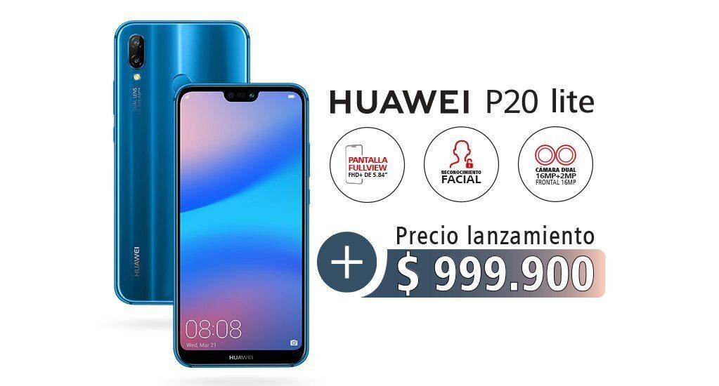 huawei p20 lite precio colombia