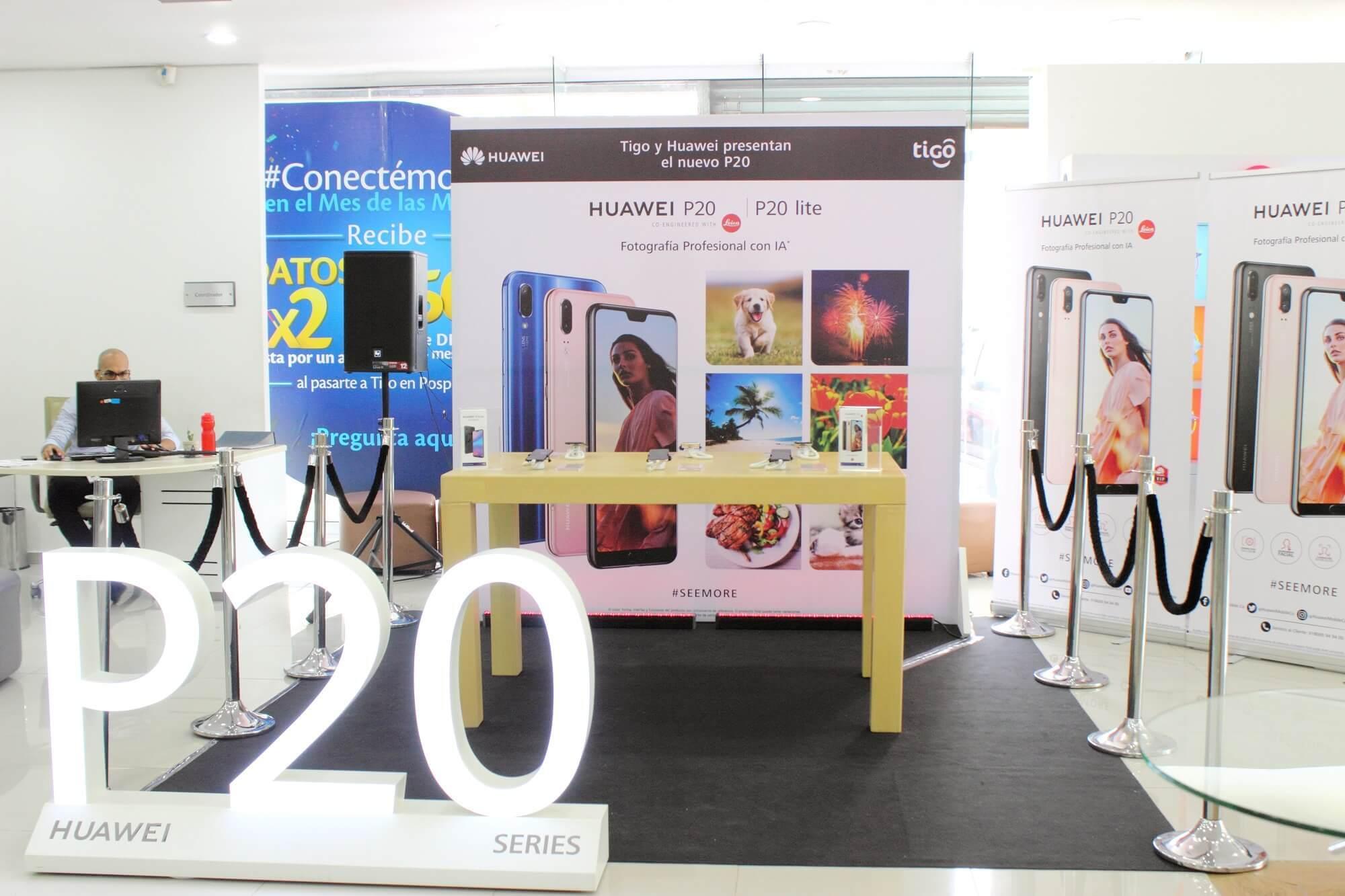 Mas de 3.000 Huawei P20 adquiridos en preventa en Colombia