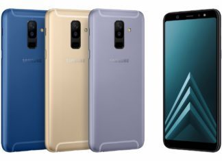 samsung galaxy A6 y A6 Plus