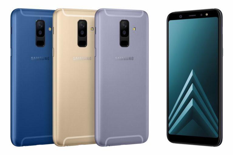 Samsung Galaxy A6 y A6 Plus, disponibles a partir de Junio