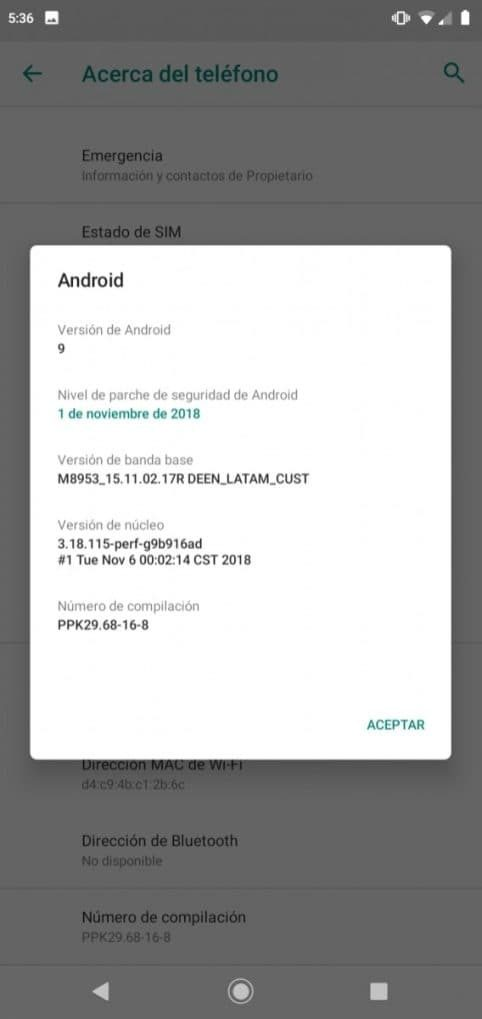 actualizacion motorola one colombia android pie