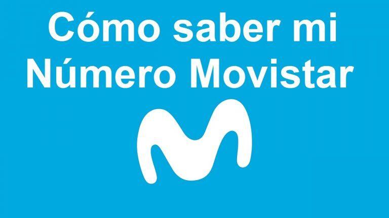 Cómo saber mi número en Movistar Colombia