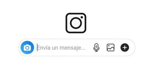 mensaje de voz instagram