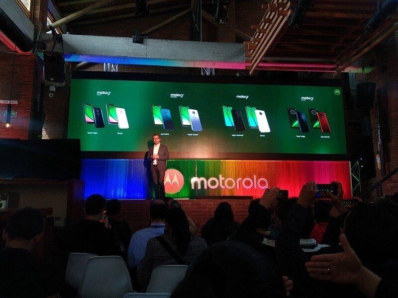 presentación Moto G7