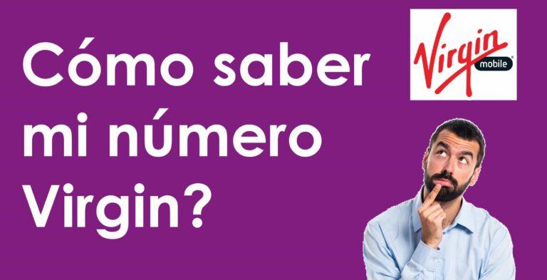 ¿Cómo saber el número de mi celular Virgin Mobile Colombia 2020?