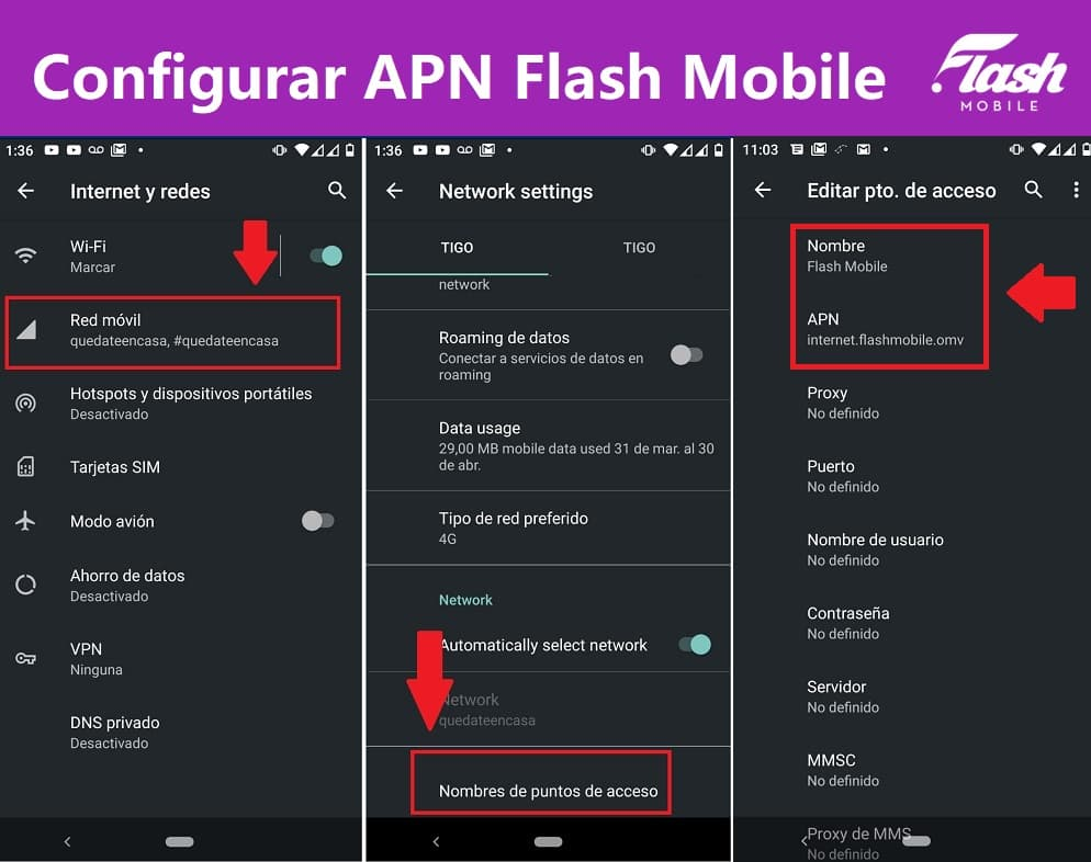 apn flash mobile colombia