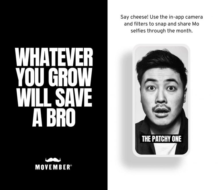 El éxito de la aplicación móvil de Movember